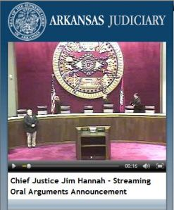 Arkansas appellate attorneys to argue live online.